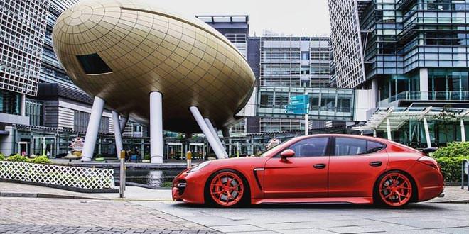 Porsche Panamera Turbo в комплексном тюнинге от Reinart Design