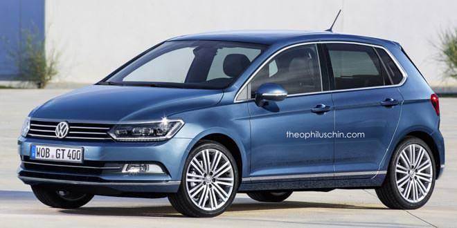 Рендер VW Polo нового поколения в стиле VW Passat B8