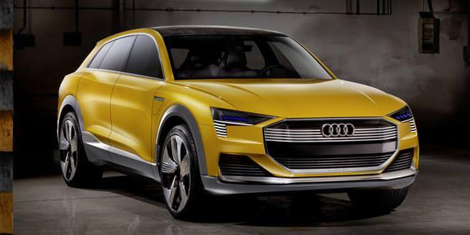 Представлен водородный прототип Audi h-tron quattro