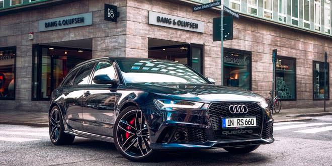 Audi RS6 с миллионной аудиосистемой Bang & Olufsen
