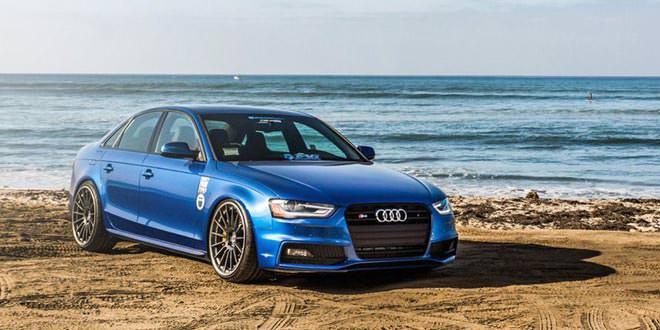 Audi S4 переобули в диски HRE Wheels (13 фото)