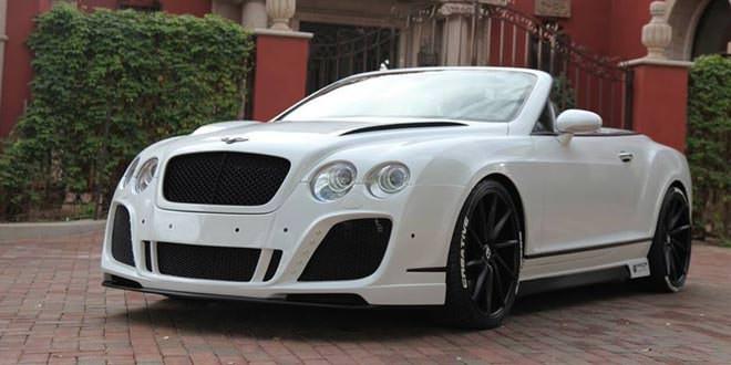 Bentley Continental GT Convertible в боди-ките от Prior Design
