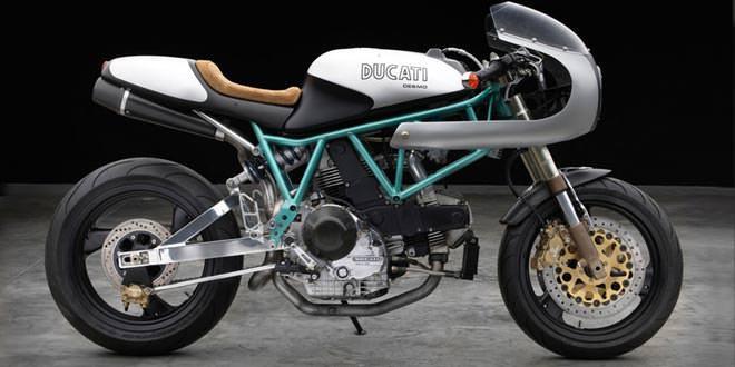 Кастом на базе Ducati 900SS/SP от Moto Studio