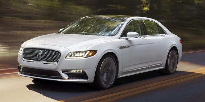 Компания Lincoln возродила седан Continental