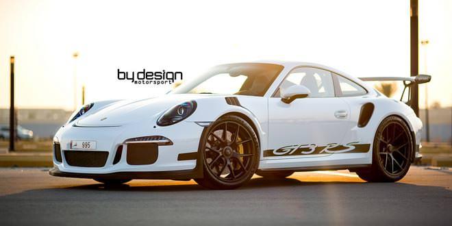 Porsche 991 GT3 RS в доработке от ByDesign