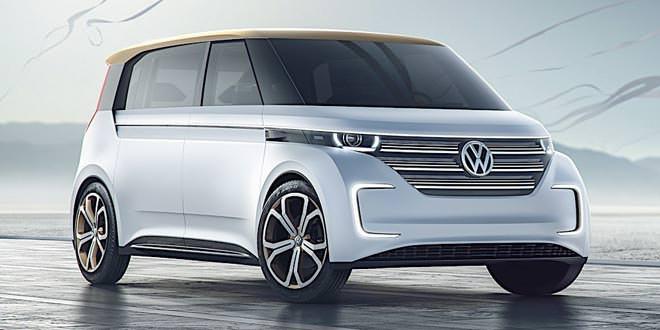 Рассекречен электро-вэн Volkswagen Budd-e