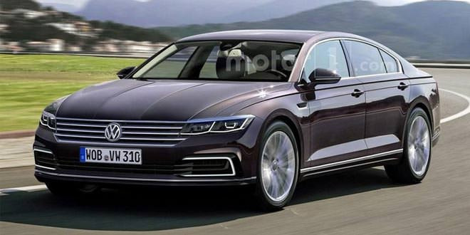 Каким бы мог получиться новый Volkswagen Phaeton