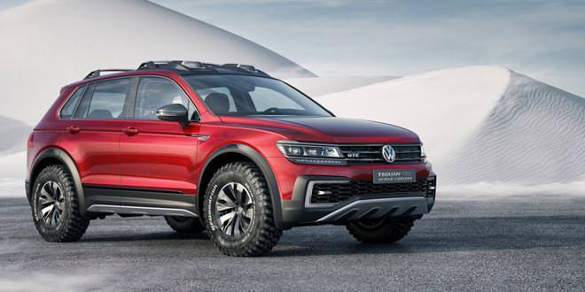 В Детройте покажут Volkswagen Tiguan GTE Active Concept