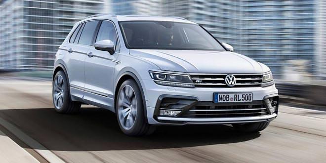 Volkswagen Tiguan ляжет в основе семейства новинок