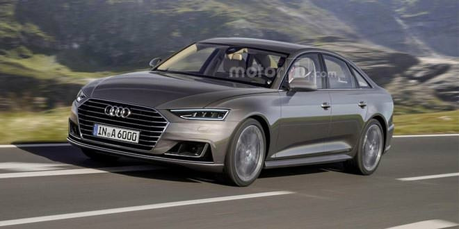 Рендер следующей Audi A6 по мотивам prologue