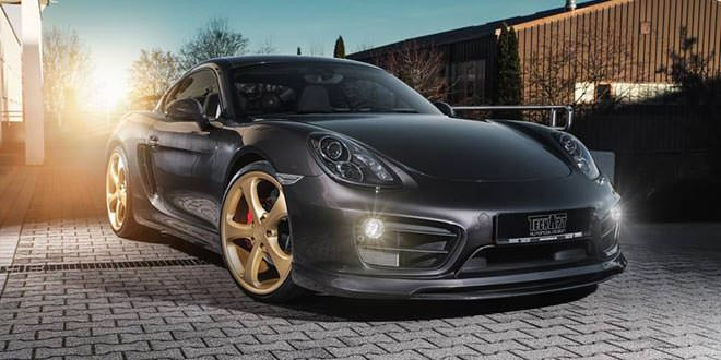 Porsche Cayman S примерил новые детали от TechArt