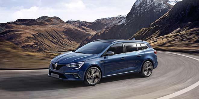 К Женеве подготовлен универсал Renault Megane нового поколения