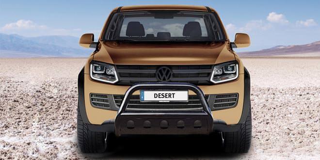 В MTM пикап Volkswagen Amarok подготовили к пустыне