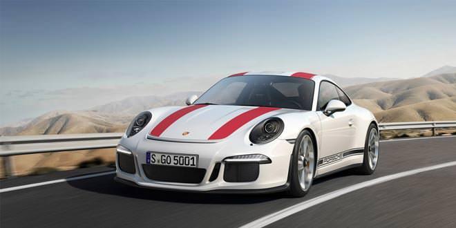Компания Porsche представила юбилейный 911 R