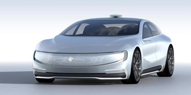 Появился новый китайский конкурент Tesla Model S