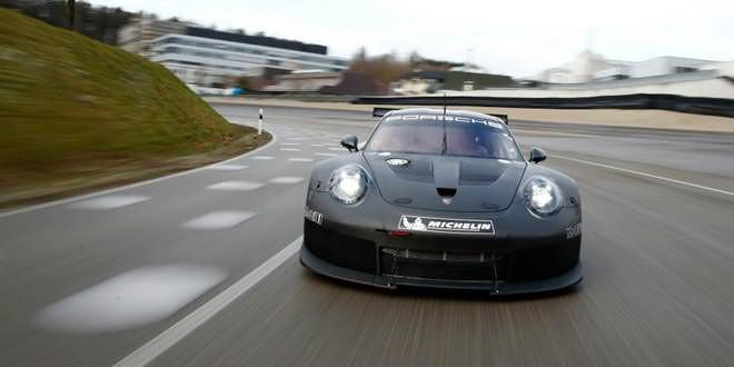 Представлен Porsche 911 GT3 RSR для гонок на выносливость