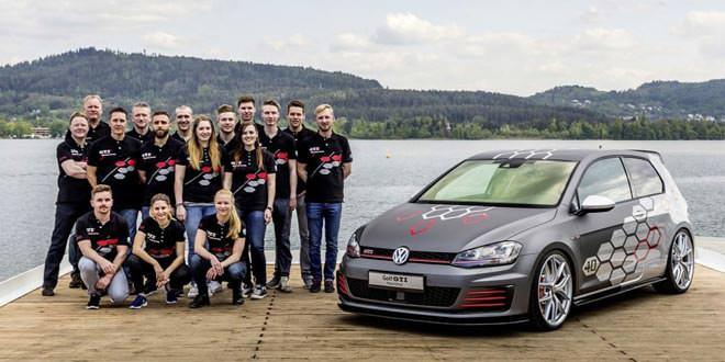 Стажёры подготовили уникальный Volkswagen Golf GTI Heartbeat