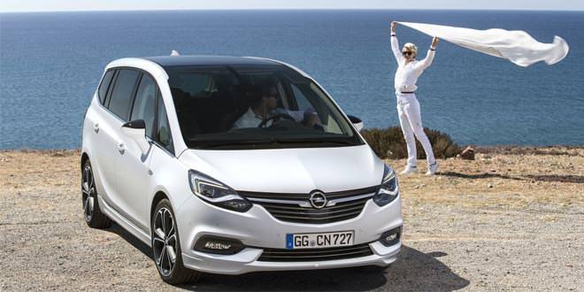 Официально: рестайлинг Opel Zafira 2017