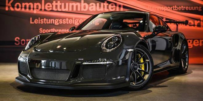 Edo представил Carbon Sport Package для Porsche 911 GT3 RS