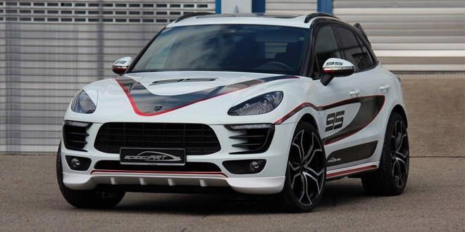 speedArt тюнинговал Porsche Macan S
