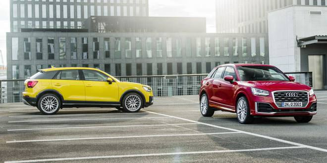 В Германии запущен конфигуратор Audi Q2