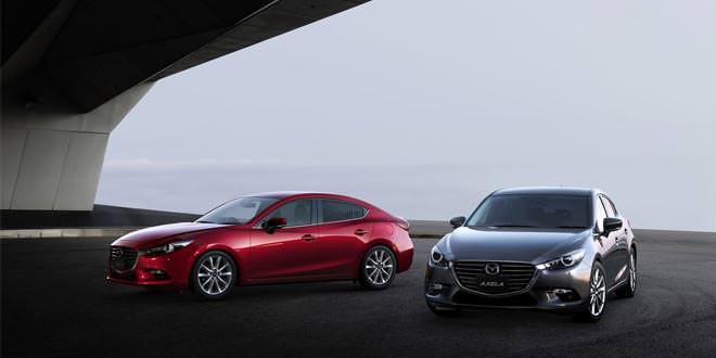 Седан и хэтчбек Mazda3 пережили рестайлинг