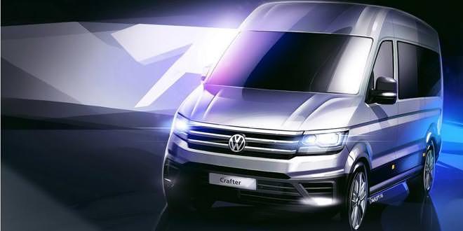 Раскрыт дизайн Volkswagen Crafter нового поколения