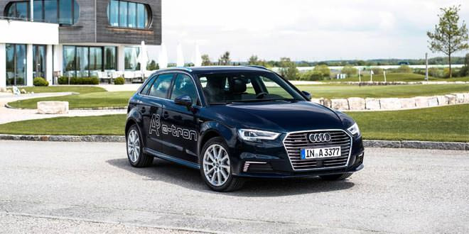 Рестайлинговый гибрид Audi A3 e-tron оценили от $38 900