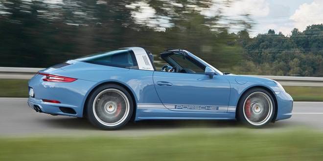 Подготовлена ретро-версия Porsche 911 Targa