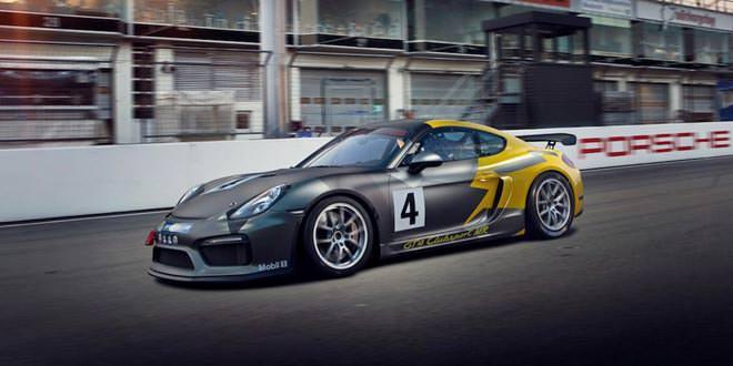 Porsche Cayman GT4 прошел подготовку для гонок на выносливость