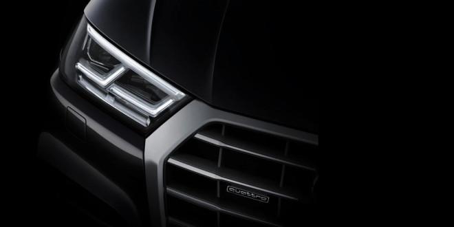 Audi продолжает дразнить тизерами нового Q5