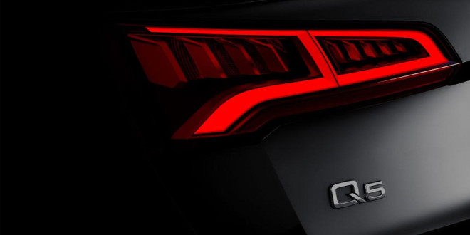 Кроссовер Audi Q5 второго поколения покажут в Париже
