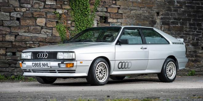 Audi Quattro Turbo 1990 года уйдёт с молотка
