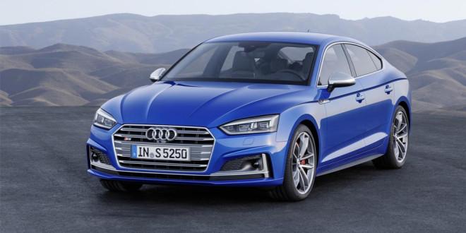 Рассекречены новые хэтчбеки Audi A5 Sportback и S5 Sportback