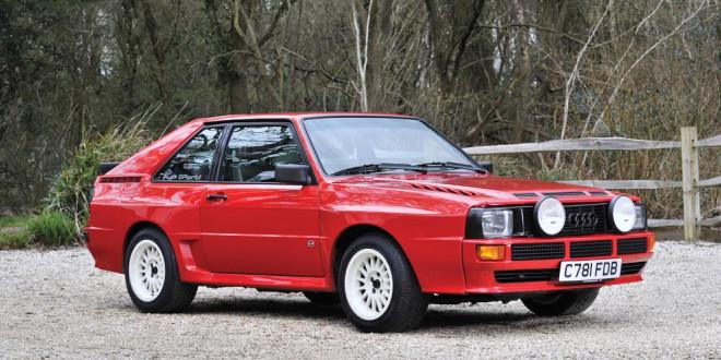 Audi Sport quattro 1986 года продали за $536 000