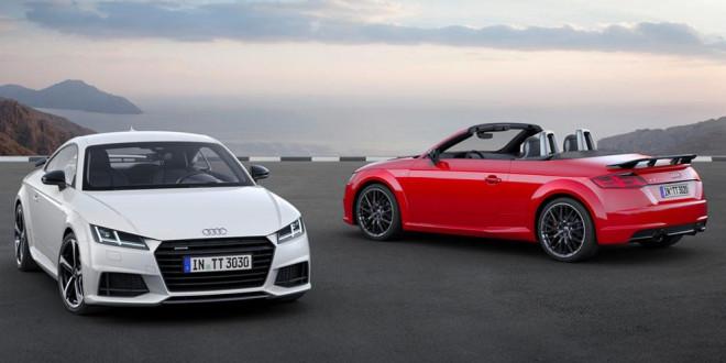 Представлена спецверсия Audi TT S Line Competition