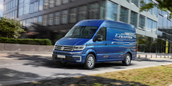 В Ганновере показали электрический фургон Volkswagen e-Crafter