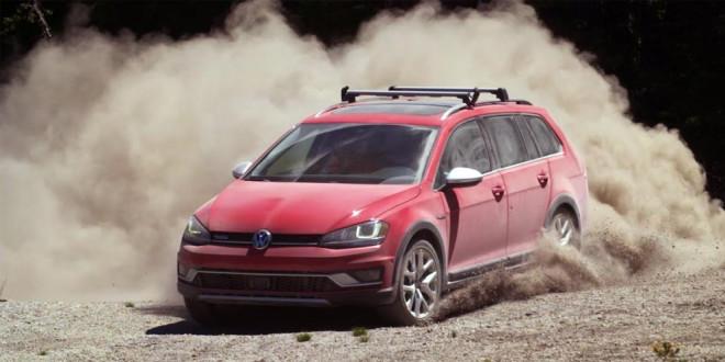Таннер Фауст проверил Volkswagen Golf Alltrack на прочность