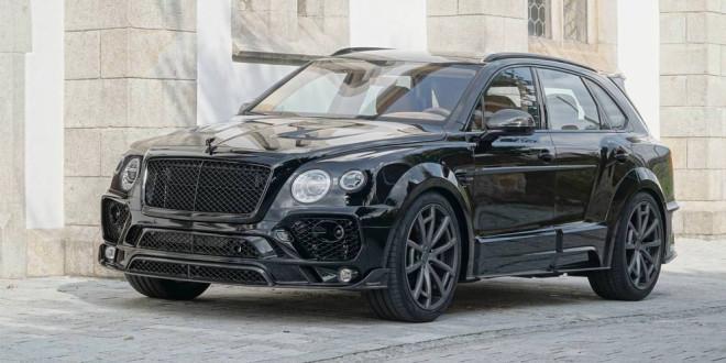 Mansory подготовил тюнинг Bentley Bentayga