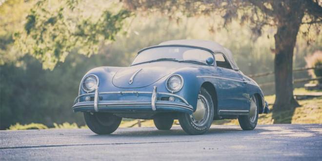 Ржавый Porsche 356 Speedster продадут на аукционе
