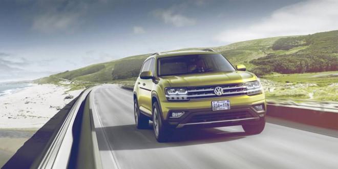 Новый семиместный кроссовер Volkswagen Atlas больше не секрет
