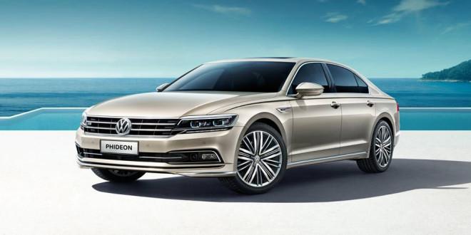 Флагманский седан Volkswagen Phideon поступает в продажу