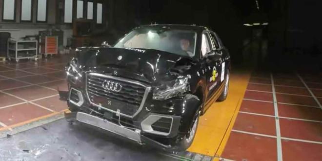 Кроссовер Audi Q2 прошёл краш-тест Euro NCAP на 5 звёзд
