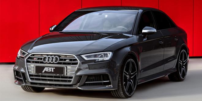 Подготовлен тюнинг Audi S3 от ABT Sportsline
