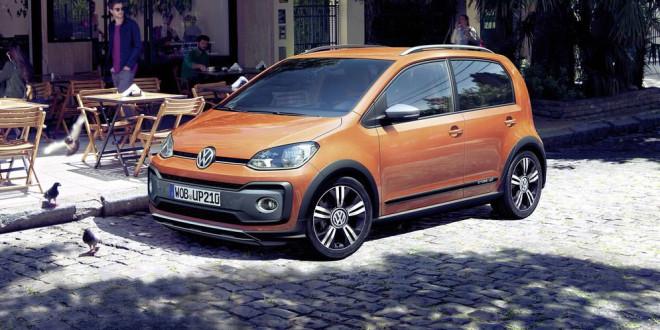 Представлен рестайлинг Volkswagen cross up! 2017
