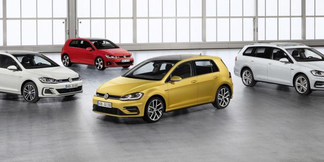 Официально: новый Volkswagen Golf 2017 рестайлинг