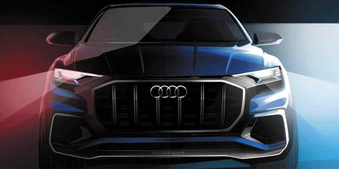 Концепт Audi Q8 дебютирует в Детройте