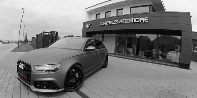 Тюнинг Audi RS6 до 820-сил от Wheelsandmore