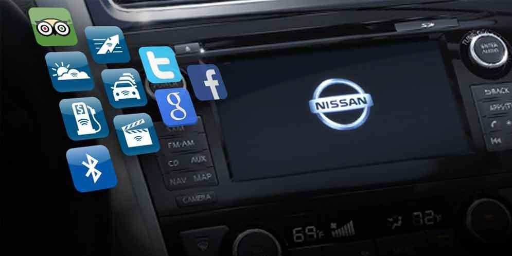 Nissan: получи удовольствие от вождения с NissanConnect