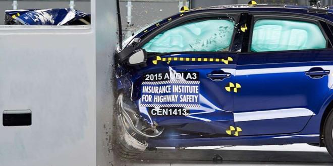 Седан Audi A3 прошёл краш-тест IIHS на Top Safety Pick +